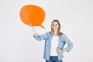 young-woman-with-orange-speech-bubble_23-2147775128